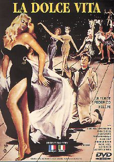 French poster la Dolce Vita
